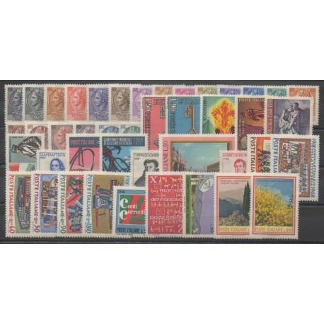 Italie - Année complète - 1968 - No 993/1032
