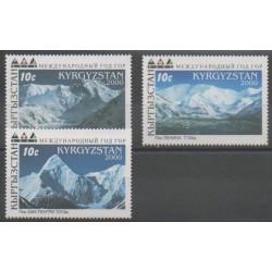 Kyrgyzstan - 2000 - Nb 159/161 - Sights