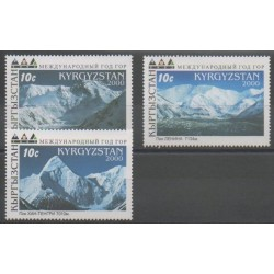 Kirghizistan - 2000 - No 159/161 - Sites
