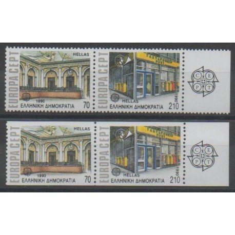 Grèce - 1990 - No 1726/1729 - Europa