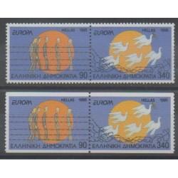 Grèce - 1995 - No 1864/1867 - Seconde Guerre Mondiale - Europa