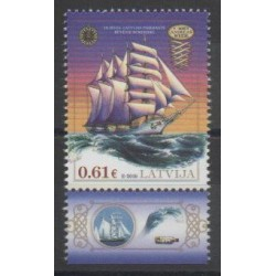 Latvia - 2016 - Nb 967 - Boats