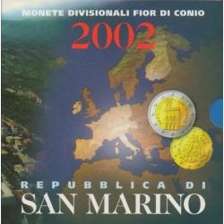 Saint-Marin - 2002 - Série BU