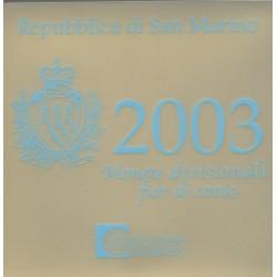 Saint-Marin - 2003 - Série BU