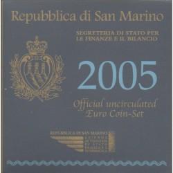 Saint-Marin - 2005 - Série BU