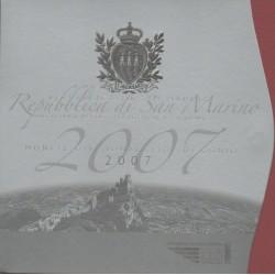 Saint-Marin - 2007 - Série BU