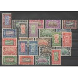 Saint Pierre and Miquelon - 1932 - Nb 136/159 - Mint hinged