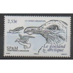 Saint-Pierre et Miquelon - Poste aérienne - 2006 - No PA86 - Oiseaux