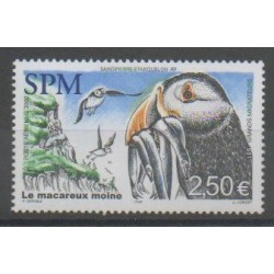 Saint-Pierre and Miquelon - Airmail - 2002 - Nb PA82 - Birds