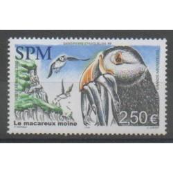 Saint-Pierre et Miquelon - Poste aérienne - 2002 - No PA82 - Oiseaux