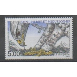 Saint-Pierre and Miquelon - Airmail - 2000 - Nb PA80 - Birds