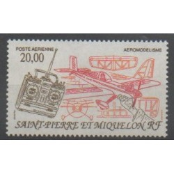 Saint-Pierre and Miquelon - Airmail - 1992 - Nb PA71 - Planes