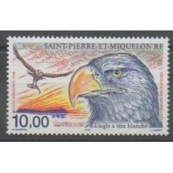 Saint-Pierre and Miquelon - Airmail - 1998 - Nb PA78 - Birds