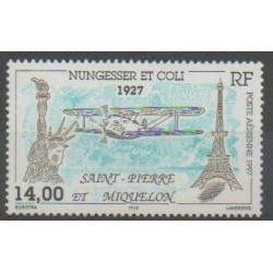 Saint-Pierre and Miquelon - Airmail - 1997 - Nb PA77 - Planes