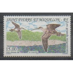 Saint-Pierre and Miquelon - Airmail - 1996 - Nb PA75 - Birds