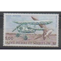 Saint-Pierre et Miquelon - Poste aérienne - 1990 - No PA69 - Aviation - Oiseaux