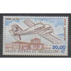 Saint-Pierre and Miquelon - Airmail - 1989 - Nb PA68 - Planes