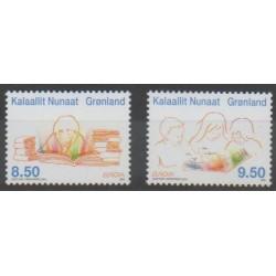 Groenland - 2010 - No 533/534 - Littérature - Enfance - Europa