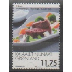 Greenland - 2005 - Nb 416 - Gastronomy - Europa