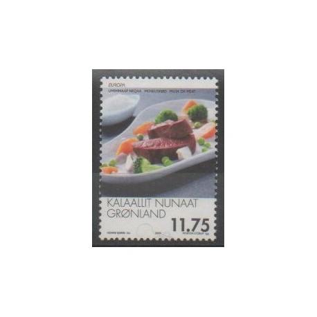 Groenland - 2005 - No 416 - Gastronomie - Europa