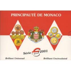 Monaco - 2001 - Série BU
