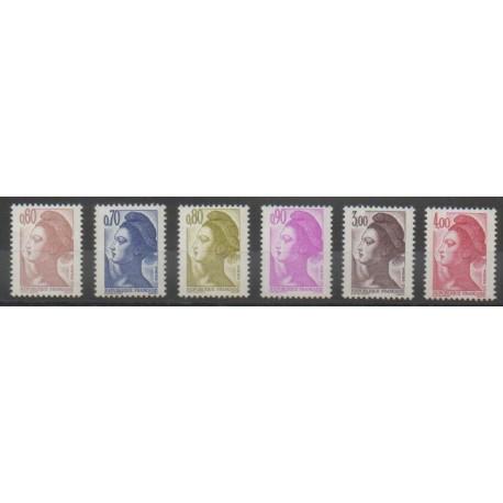 France - Poste - 1982 - No 2239/2244