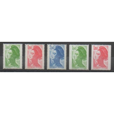France - Poste - 1982 - No 2219/2223