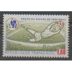 France - Poste - 1982 - No 2209 - Coupe du monde de football