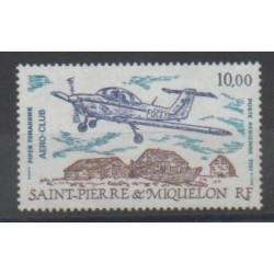 Saint-Pierre and Miquelon - Airmail - 1991 - Nb PA70 - Planes
