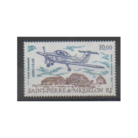 Saint-Pierre et Miquelon - Poste aérienne - 1991 - No PA70 - Aviation