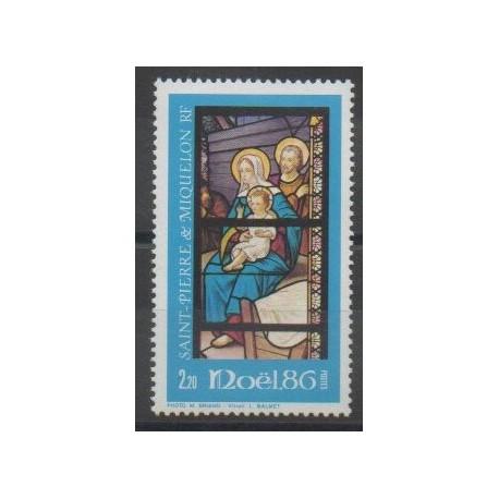 Saint-Pierre et Miquelon - 1986 - No 474 - Noël