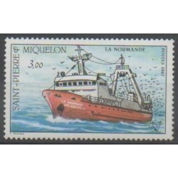 Saint-Pierre and Miquelon - 1987 - Nb 482 - Boats