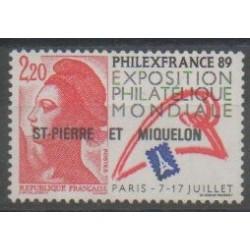 Saint-Pierre et Miquelon - 1988 - No 489 - Exposition