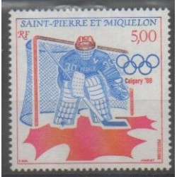 Saint-Pierre and Miquelon - 1988 - Nb 487 - Winter Olympics