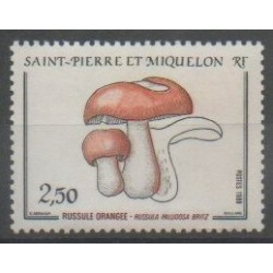 Saint-Pierre and Miquelon - 1988 - Nb 486 - Mushrooms