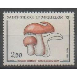 Saint-Pierre et Miquelon - 1988 - No 486 - Champignons