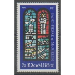 Saint-Pierre et Miquelon - 1988 - No 496 - Noël
