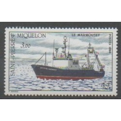 Saint-Pierre and Miquelon - 1988 - Nb 493 - Boats