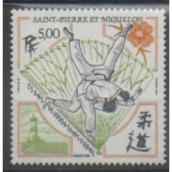 Saint-Pierre and Miquelon - 1989 - Nb 498 - Various sports