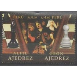 Pérou - 2017 - No 2113/2114 - Échecs