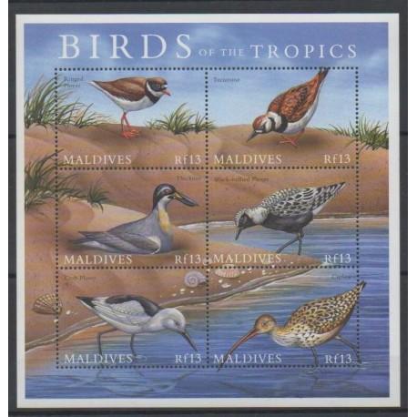 Maldives - 2000 - No 3006/3011 - Oiseaux