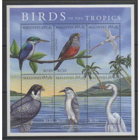 Maldives - 2000 - No 2988/2993 - Oiseaux