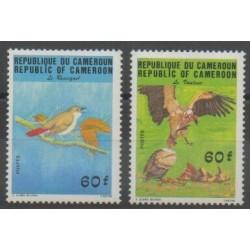 Cameroun - 1984 - No 742/743 - Oiseaux