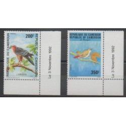 Cameroun - 1992 - No 863/864 - Oiseaux