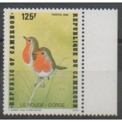 Cameroun - 1992 - No 854 - Oiseaux