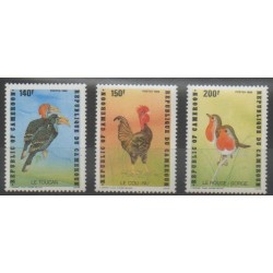 Cameroon - 1985 - Nb 777/779 - Birds