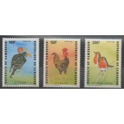 Cameroun - 1985 - No 777/779 - Oiseaux