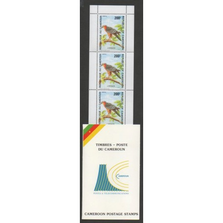 Cameroun - 1992 - No C863 - Oiseaux