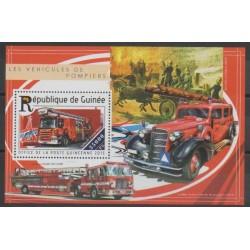 Guinea - 2015 - Nb BF1802 - Firemen