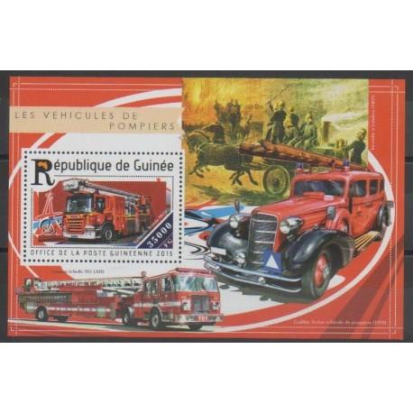Guinée - 2015 - No BF1802 - Pompiers